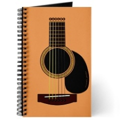 Journal/Songwriting Notebook. $9