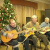 elders playing xmas songs