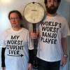 Lisa & Tellman- Worst Student t-shirts