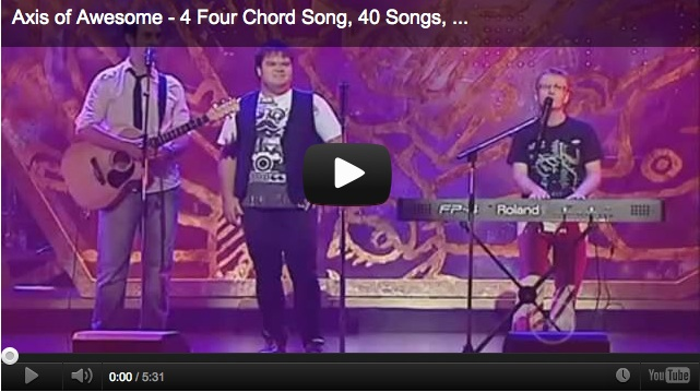 The Axis Of Awesome - 4 Chords (Ukulele) - Ultimate-Guitar.Com